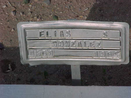 GONZALEZ, ELIAS  S. - Gila County, Arizona | ELIAS  S. GONZALEZ - Arizona Gravestone Photos