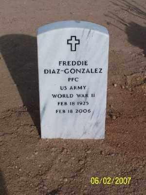 GONZALEZ, FREDDIE DIAZ - Gila County, Arizona | FREDDIE DIAZ GONZALEZ - Arizona Gravestone Photos