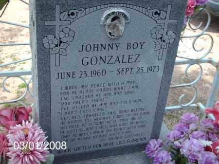 GONZALEZ, JOHNNY - Gila County, Arizona | JOHNNY GONZALEZ - Arizona Gravestone Photos