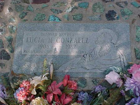 GONZALES, LUCIA M. - Gila County, Arizona | LUCIA M. GONZALES - Arizona Gravestone Photos