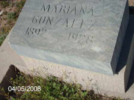 GONZALEZ, MARIANA - Gila County, Arizona | MARIANA GONZALEZ - Arizona Gravestone Photos