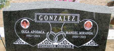 GONZALEZ, OLGA - Gila County, Arizona   OLGA GONZALEZ - Arizona Gravestone Photos