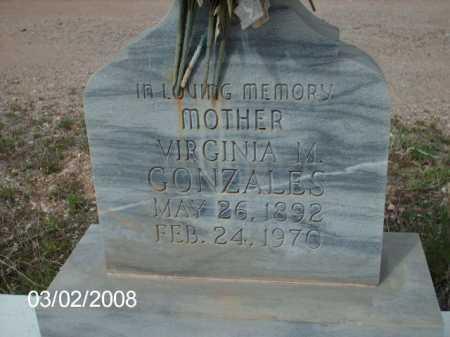 GONZALES, VIRGINIA - Gila County, Arizona | VIRGINIA GONZALES - Arizona Gravestone Photos