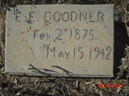 GOODNER, ERNEST E. - Gila County, Arizona   ERNEST E. GOODNER - Arizona Gravestone Photos