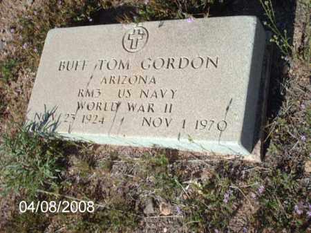 GORDON, BUFF  TOM - Gila County, Arizona | BUFF  TOM GORDON - Arizona Gravestone Photos