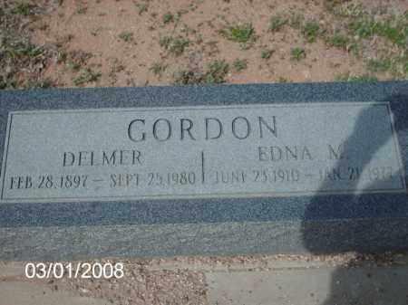 GORDON, DELMER - Gila County, Arizona | DELMER GORDON - Arizona Gravestone Photos