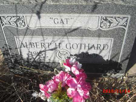 GOTHARD, ALBERT - Gila County, Arizona | ALBERT GOTHARD - Arizona Gravestone Photos
