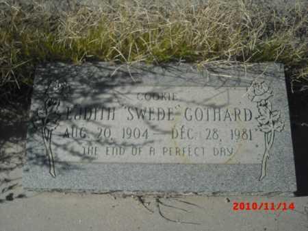 GOTHARD, EADITH - Gila County, Arizona | EADITH GOTHARD - Arizona Gravestone Photos