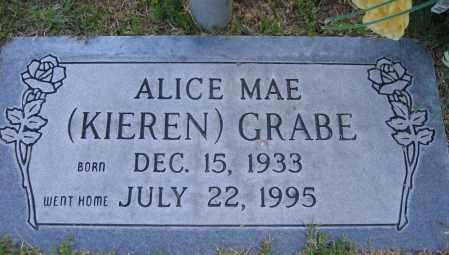 GRABE, ALICE - Gila County, Arizona | ALICE GRABE - Arizona Gravestone Photos