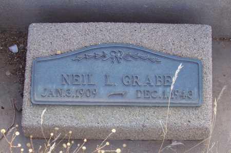 GRABE, NEIL L. - Gila County, Arizona | NEIL L. GRABE - Arizona Gravestone Photos