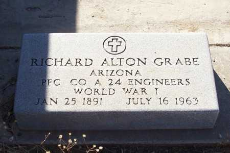 GRABE, RICHARD ALTON - Gila County, Arizona | RICHARD ALTON GRABE - Arizona Gravestone Photos