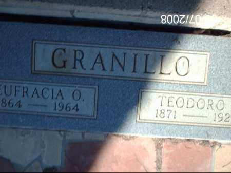 GRANILLO, TEODORO - Gila County, Arizona | TEODORO GRANILLO - Arizona Gravestone Photos