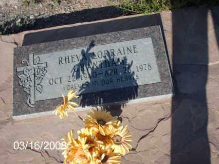 GRANTHAM, RHEVA - Gila County, Arizona | RHEVA GRANTHAM - Arizona Gravestone Photos
