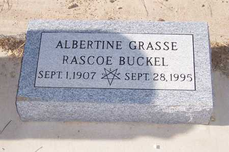 BUCKEL, RASCOE - Gila County, Arizona | RASCOE BUCKEL - Arizona Gravestone Photos