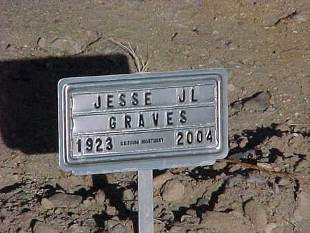 GRAVES, JESSE  J. L. - Gila County, Arizona | JESSE  J. L. GRAVES - Arizona Gravestone Photos
