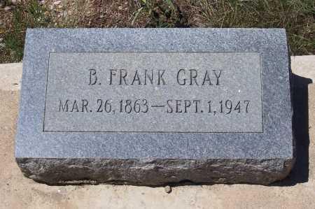 GRAY, B. FRANK - Gila County, Arizona   B. FRANK GRAY - Arizona Gravestone Photos