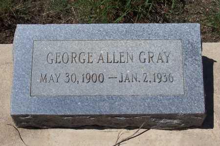 GRAY, GEORGE ALLEN - Gila County, Arizona   GEORGE ALLEN GRAY - Arizona Gravestone Photos