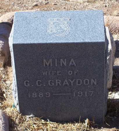 GRAYDON, MINA - Gila County, Arizona | MINA GRAYDON - Arizona Gravestone Photos