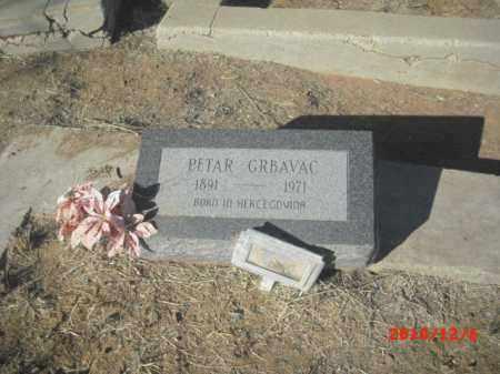 GRBAVAC, PETAR - Gila County, Arizona | PETAR GRBAVAC - Arizona Gravestone Photos