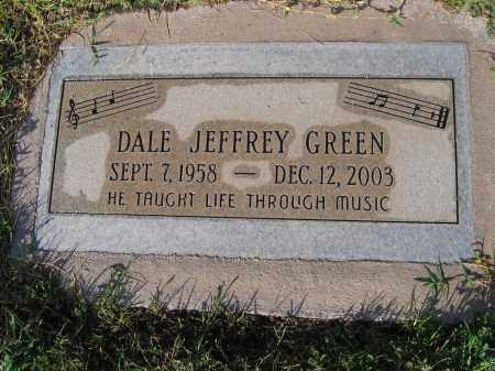 GREEN, DALE JEFFREY - Gila County, Arizona | DALE JEFFREY GREEN - Arizona Gravestone Photos