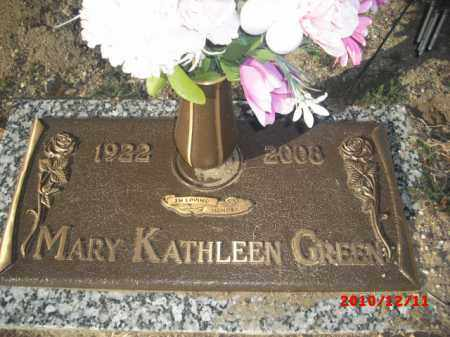 GREEN, MARY KATHLEEN - Gila County, Arizona | MARY KATHLEEN GREEN - Arizona Gravestone Photos