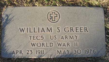 GREER, WILLIAM - Gila County, Arizona | WILLIAM GREER - Arizona Gravestone Photos