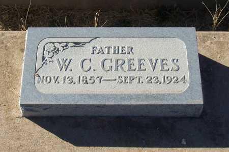 GREEVES, W.C. - Gila County, Arizona | W.C. GREEVES - Arizona Gravestone Photos