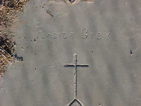 GREY, ROSITA - Gila County, Arizona | ROSITA GREY - Arizona Gravestone Photos