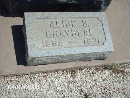 GREYBEAL, ALICE - Gila County, Arizona | ALICE GREYBEAL - Arizona Gravestone Photos