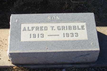 GRIBBLE, ALFRED T. - Gila County, Arizona | ALFRED T. GRIBBLE - Arizona Gravestone Photos