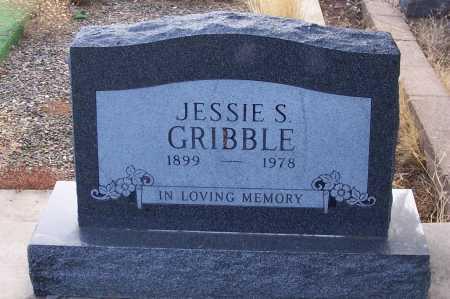 GRIBBLE, JESSIE S. - Gila County, Arizona   JESSIE S. GRIBBLE - Arizona Gravestone Photos