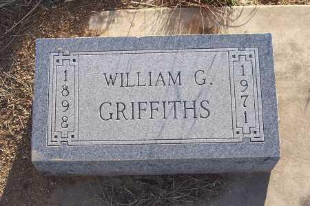 GRIFFITHS, WILLIAM G. - Gila County, Arizona | WILLIAM G. GRIFFITHS - Arizona Gravestone Photos