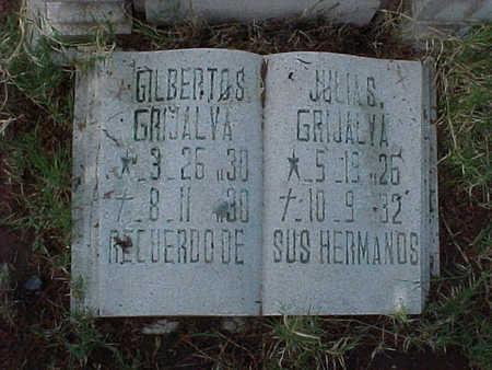 GRIJALVA, JULIA S. - Gila County, Arizona | JULIA S. GRIJALVA - Arizona Gravestone Photos