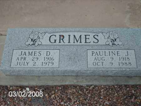 GRIMES, JAMES - Gila County, Arizona | JAMES GRIMES - Arizona Gravestone Photos