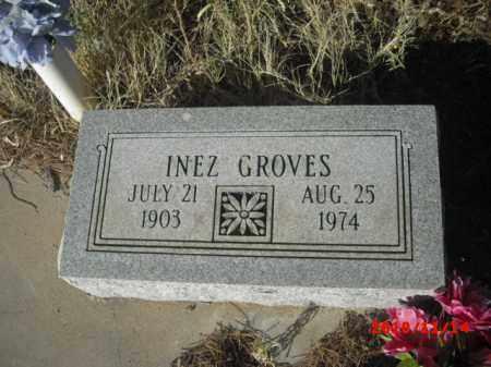 GROVES, INEZ - Gila County, Arizona   INEZ GROVES - Arizona Gravestone Photos