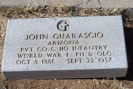 GUARASCIO, JOHN - Gila County, Arizona   JOHN GUARASCIO - Arizona Gravestone Photos
