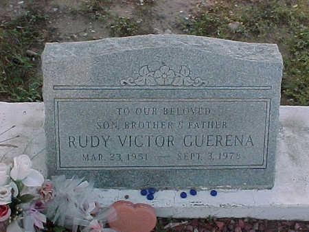 GUERENA, RUDY VICTOR - Gila County, Arizona | RUDY VICTOR GUERENA - Arizona Gravestone Photos