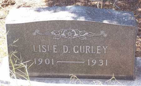 GURLEY, LISLE D. - Gila County, Arizona   LISLE D. GURLEY - Arizona Gravestone Photos