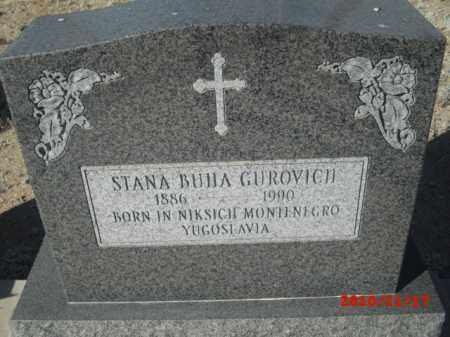 GUROVICH, STANA BUHA - Gila County, Arizona | STANA BUHA GUROVICH - Arizona Gravestone Photos