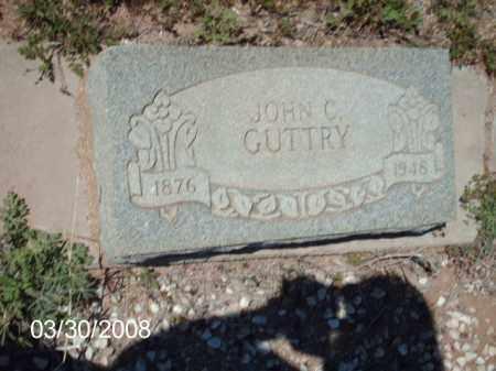 GUTTRY, JOHN C. - Gila County, Arizona | JOHN C. GUTTRY - Arizona Gravestone Photos