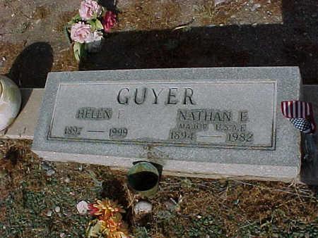 GUYER, HELEN - Gila County, Arizona | HELEN GUYER - Arizona Gravestone Photos