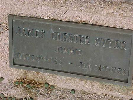 GUYER, JAMES CHESTER - Gila County, Arizona   JAMES CHESTER GUYER - Arizona Gravestone Photos
