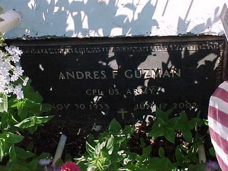 GUZMAN, ANDRES F. - Gila County, Arizona | ANDRES F. GUZMAN - Arizona Gravestone Photos