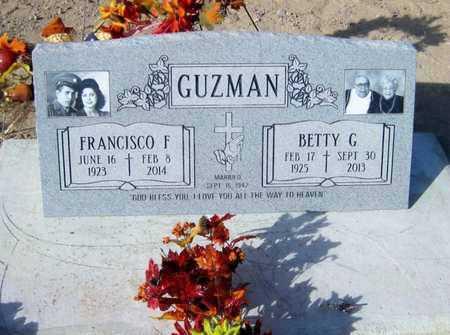 "GUZMAN, FRANCISCO ""PANCHO"" - Gila County, Arizona | FRANCISCO ""PANCHO"" GUZMAN - Arizona Gravestone Photos"