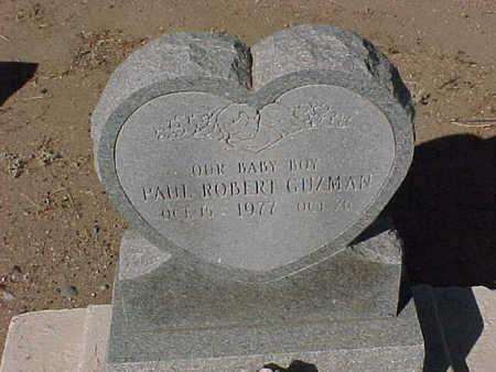 GUZMAN, PAUL ROBERT - Gila County, Arizona   PAUL ROBERT GUZMAN - Arizona Gravestone Photos