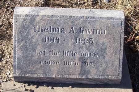 GWINN, THELMA A. - Gila County, Arizona   THELMA A. GWINN - Arizona Gravestone Photos