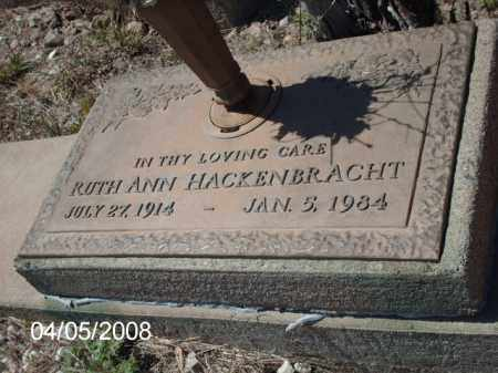 HACKENBRACHT, RUTH ANN - Gila County, Arizona | RUTH ANN HACKENBRACHT - Arizona Gravestone Photos