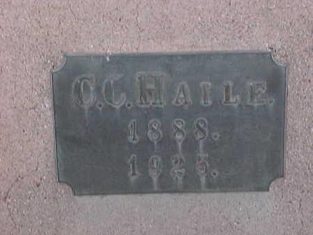 HAILE, COLOMBUS   CURETON - Gila County, Arizona | COLOMBUS   CURETON HAILE - Arizona Gravestone Photos