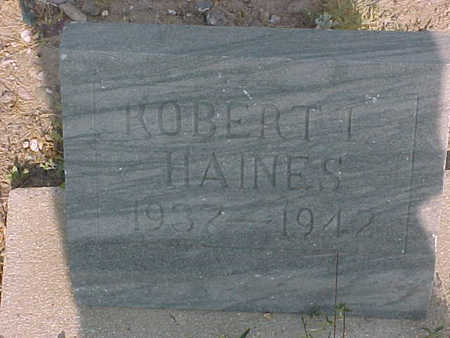 HAINES, ROBERT  I. - Gila County, Arizona | ROBERT  I. HAINES - Arizona Gravestone Photos