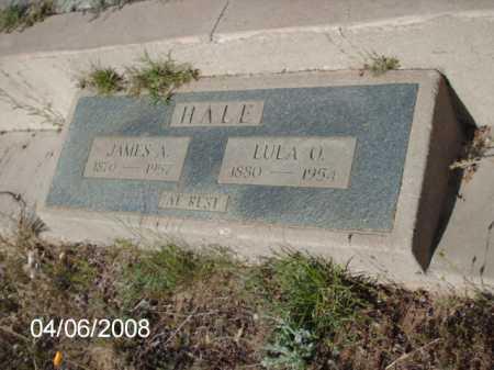 HALE, JAMES A. - Gila County, Arizona | JAMES A. HALE - Arizona Gravestone Photos